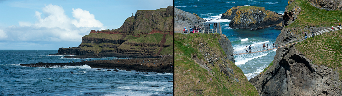 Giants Causeway / Carrick a Rede